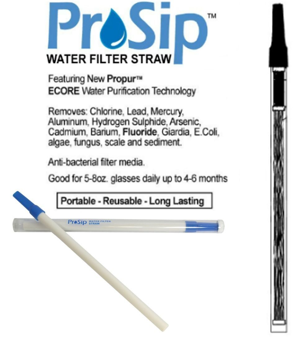 Propur Propur Prosip Water Filtration Straw For On The Go