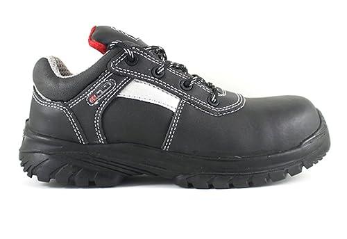 4Walk Stone S3 - zapatos de seguridad puntera composite - negro - talla 39 b2Tzm