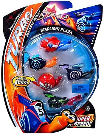 Dreamworks Turbo Movie Moments Shell Racers Starlight Plaza Vehicle
