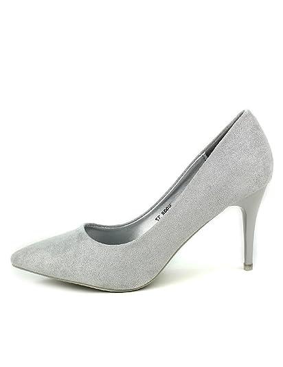 escarpin gris