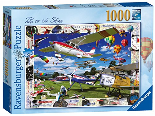 Ravensburger Take to The Skies! 1000pc Jigsaw Puzzle