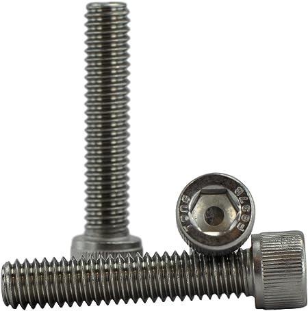 "5//16-18 x 2-1//4/"" Socket Head Cap Screws Allen Hex Bolts Stainless Steel Qty 100"