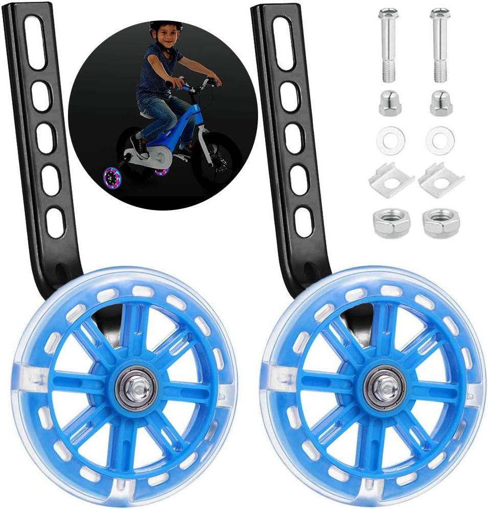 Huhuhuhuhuo ruedas de apoyo para niños, ruedas de apoyo para bicicleta infantil, ruedas de apoyo para bicicleta de niños, ruedas de apoyo para bicicleta de niño, ruedas de apoyo para niños