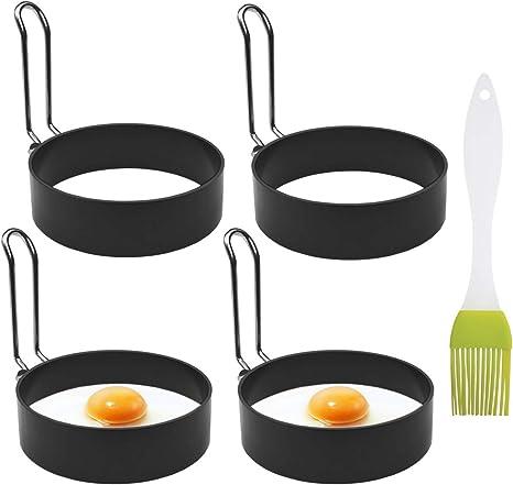 Pancake Maker Fried Omelette Egg Frying Rings Non Stick Metal Circle Round