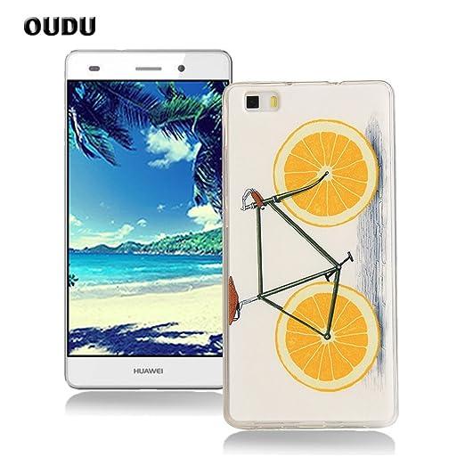 56 opinioni per OuDu Cover Huawei P8 Lite Custodia TPU Silicone Cassa Gomma Soft Silicone Case