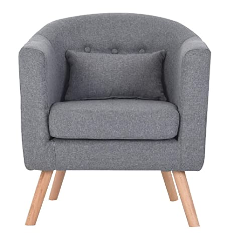 Amazon.com: Sofa Lazy Sofa Nordic Fabric Single Sofas ...