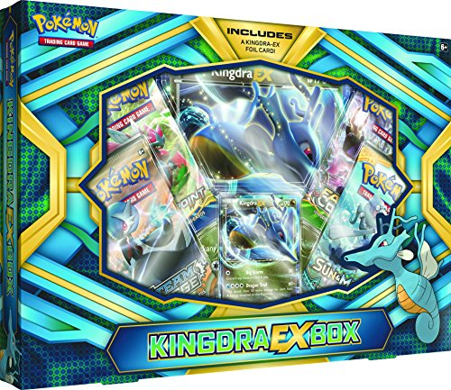 Pokemon TCG: Kingdra-Ex Box Card Game
