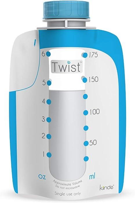 Kit de lactancia para sacaleches Babymoov Twist