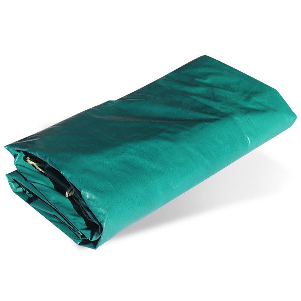 ZHANWEI ターポリンタープ Tarp テント タープ 厚い防水布オーニング 雨篷 耐寒性 難燃剤 防火 厚い オーニング PVCコーティング布 日焼け止め シェード トラック、 緑 (色 : Green, サイズ さいず : 4x6M) B07FYH3FYP 4x6M Green Green 4x6M