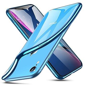 850d15f56d ESR iPhone XR ケース クリア ソフトカバー 薄型 高品質 透明TPU 【 指紋防止 落下