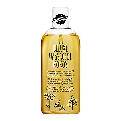 Aceite de masaje Deluxe de EIS | aceite de masaje erótico | aroma a coco |