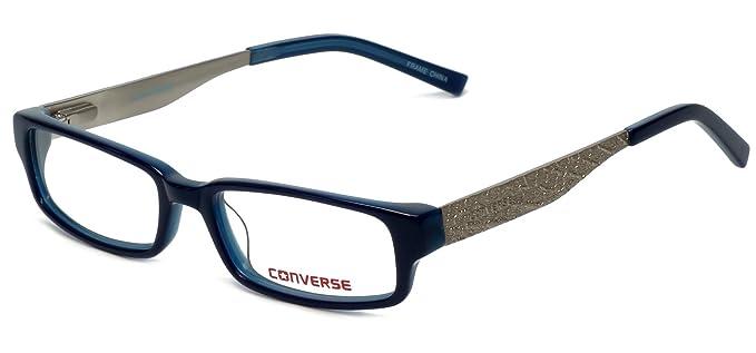 e7e6d195aee5 Amazon.com: CONVERSE Eyeglasses TELL ME Navy 47MM: Clothing