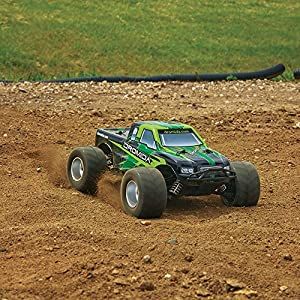 Dromida 1:18 Scale RTR Remote Control RC Car: Electric 4WD MT Monster Truck with 2.4GHz Radio, 7.2V 6C 1300mAh NiMH Rechargeable Battery, 4 x AA Batteries and Charger