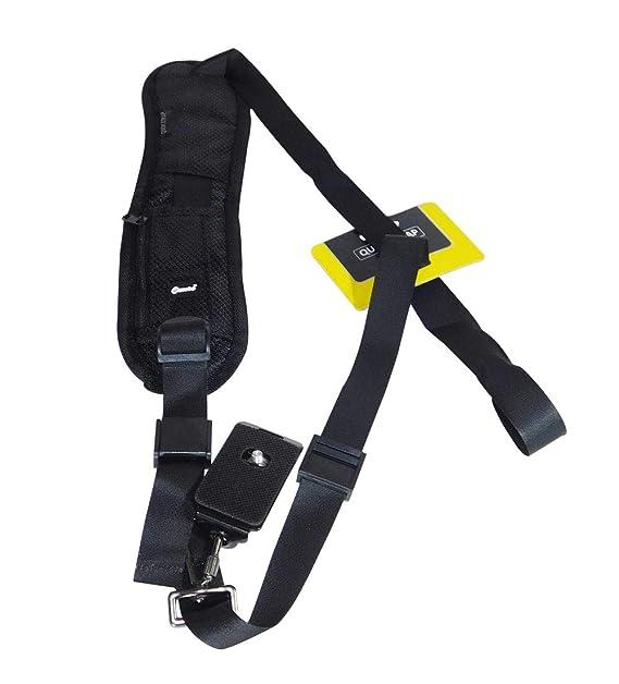 Ozure for Quick Rapid Release Single Shoulder Neck Sling Belt Strap for All Major Brand DSLR,SLR Belts   Harnesses