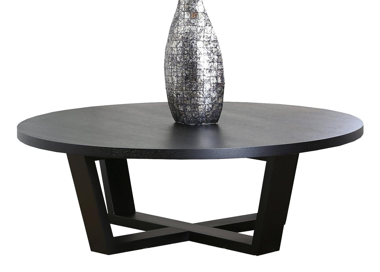 Amazon.com: Abbyson Heritage Round Espresso Coffee Table: Home U0026 Kitchen
