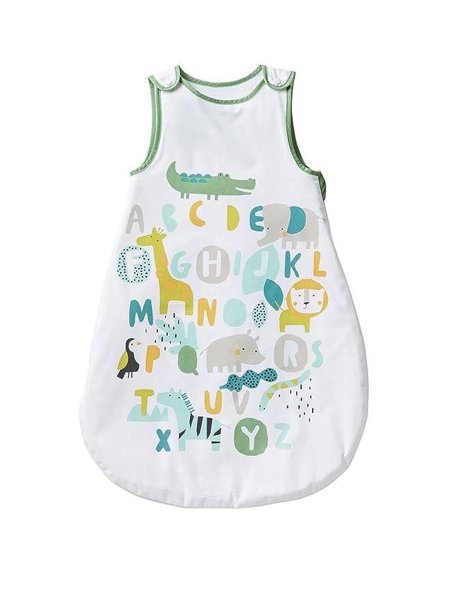 Vertbaudet saco especial verano Baby Safari * blanco Blanc/motif Talla:70: Amazon.es: Bebé