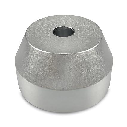 45 rpm adaptador aluminio sólido - ajuste perfecto para la ...