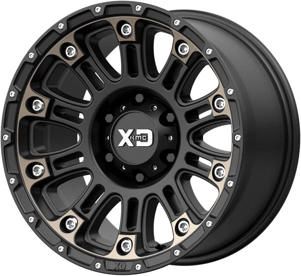 hexavalent compounds XD SERIES BY KMC WHEELS XD829 HOSS II Wheel with BLACK and Chromium 17 x 9. inches //5 x 78 mm, -12 mm Offset