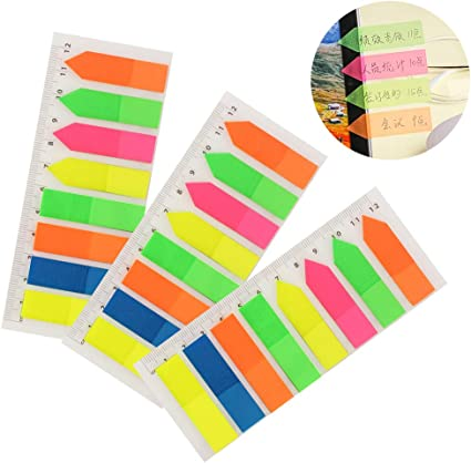 Assorted Memo Sticker Notes Flags Lesezeichen Index Label Adhesive Set