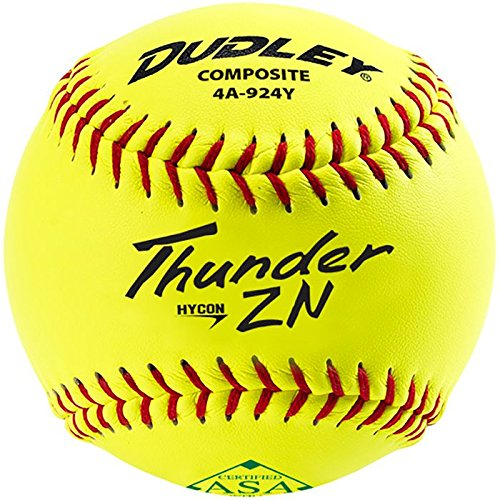 Dudley 11'' Thunder Hycon ZN ASA Composite Slowpitch Softball by Douglas