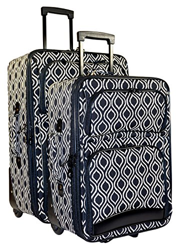 Ever Moda Ikat 2 Piece Expandable Luggage Set by Ever Moda