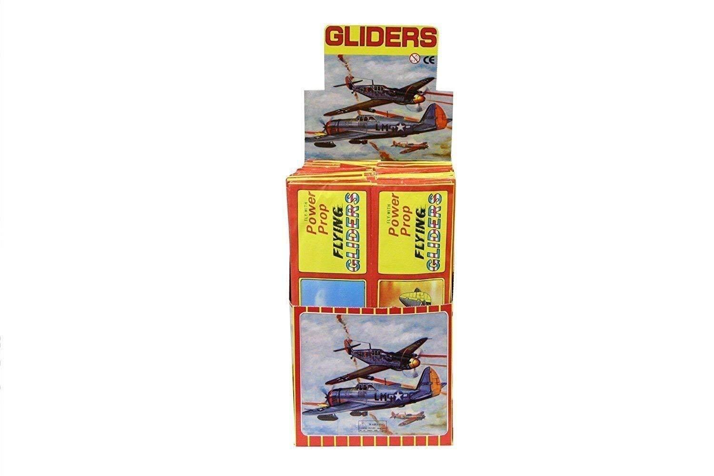 12 Flying Glider Planes Henbrandt