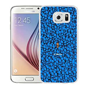 Fashion Custom Designed Cover Case For Samsung Galaxy S6 Phone Case With Be Different Stand Out_White Phone Case
