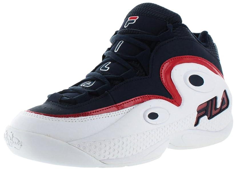 97 Blue Size Grant Basketball Shoes Hill Fila 7 Retro Men's DH9E2bWYeI