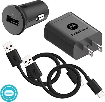 Amazon.com: Motorola TurboPower 18 QC3.0 Cargador con 3.3 ...