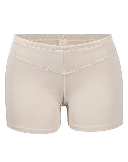 bb29a0dfc4c FLORATA Hip Enhancer Underwear Women Body Shaper Briefs Butt Lifter Panty  Booty Push Up Booster at Amazon Women s Clothing store