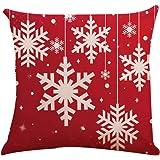 Fossrn Fundas Cojines 45x45 Navidad Decoracion Patrón de ...