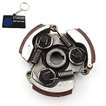 Stoneder – Cojinete de cloche de aleación con cuñero para motores de dos tiempos de 47 o 49 centímetros cúbicos de minimotos, cuatrimotos, ATV: Amazon.es: ...