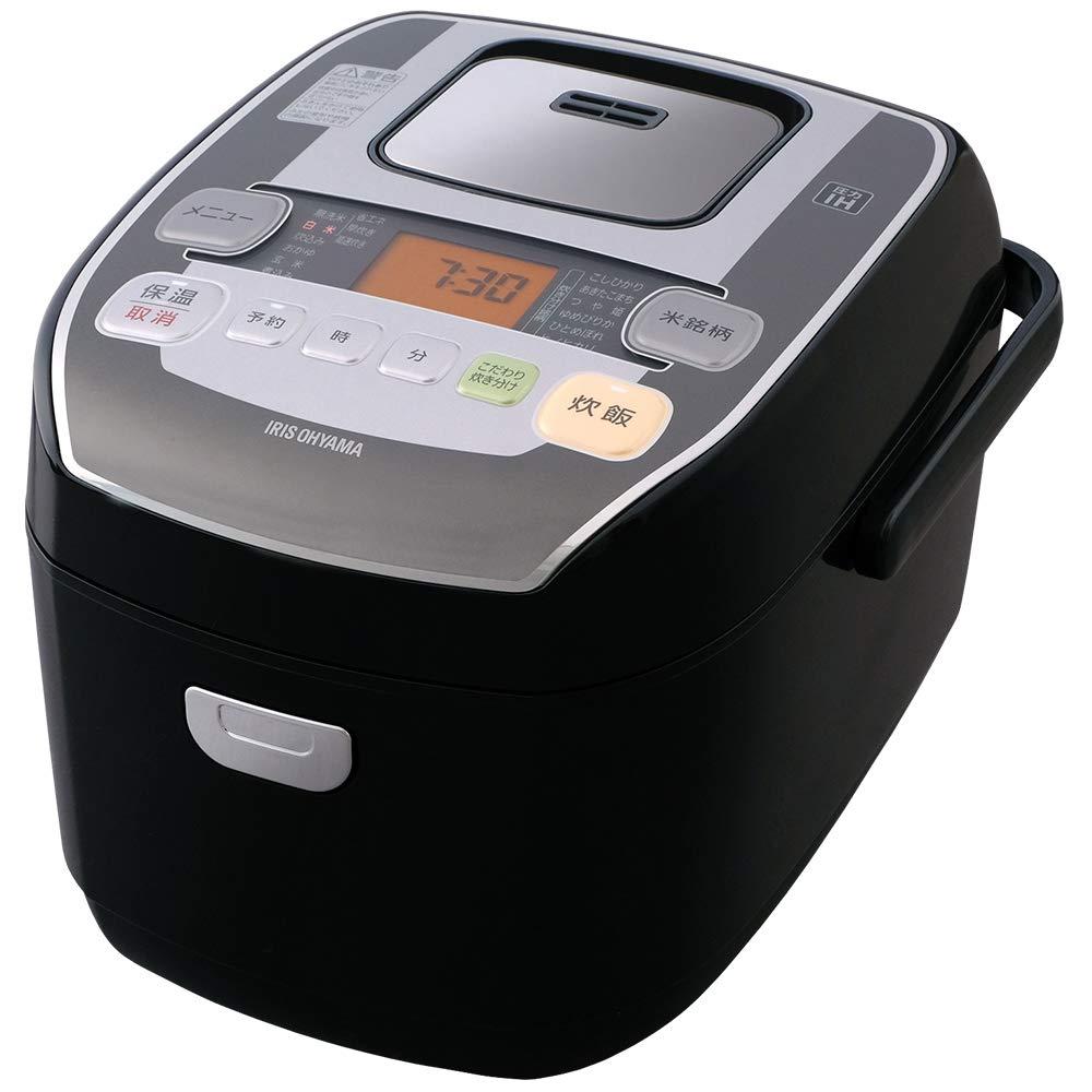 アイリスオーヤマ 炊飯器 圧力IH式 5.5合 銘柄炊き分け機能付き 米屋の旨み RC-PA50-B 2)5.5合  B0758JQ5H2