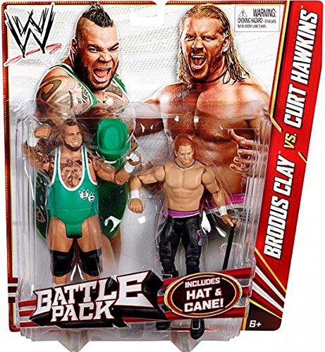 WWE Series 20 Battle Pack: Curt Hawkins vs. Brodus Clay Figure, 2-Pack by WWE