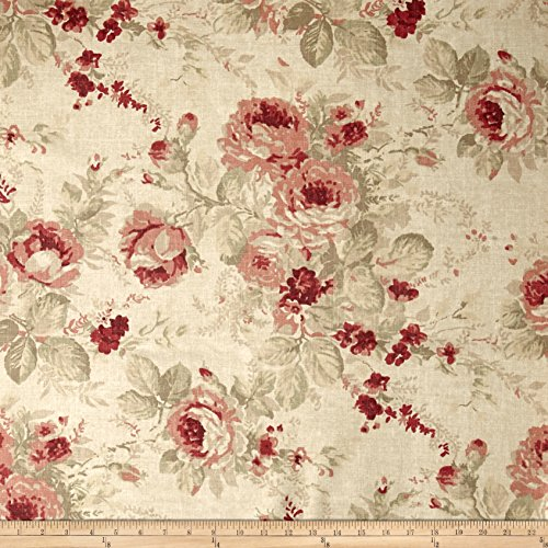 Rose Upholstery Fabric - Magnolia Home Shablis Rose