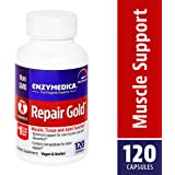 Enzymedica - Repair Gold, Muscle, Tissue & Joint Function, 120 Capsules (FFP)