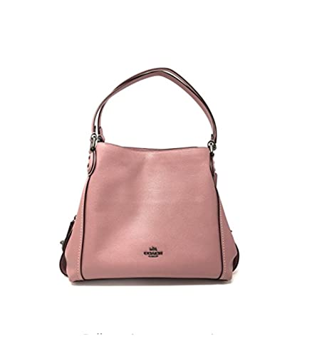 4a0757ccaf Coach Edie 31 Shoulder Bag Pebbled Leather in DK dusty rose Style 57125