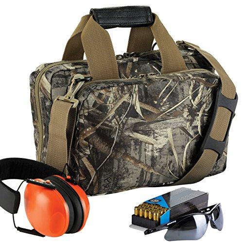 Magnum Range Bag (13 inch RealTree MAX-5 camo pattern gun range bag)