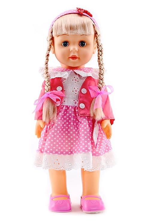 9cafd44d1 Dolls Realistic Vinyl Singing Walking Baby Doll Lifelike Cute Baby Girl Doll  Toy Dolls