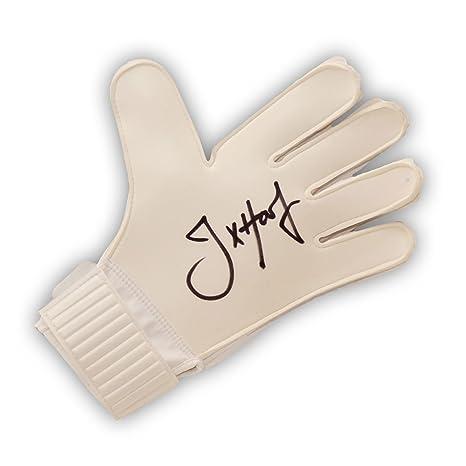 Raccogliere cercare lucentezza adorabile Joe Hart ha firmato guanto portiere