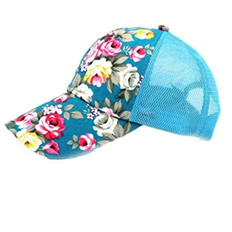 ZLJII Mujeres Mariposas Flor Bordado Gorras Mujer Niña Sombreros ...