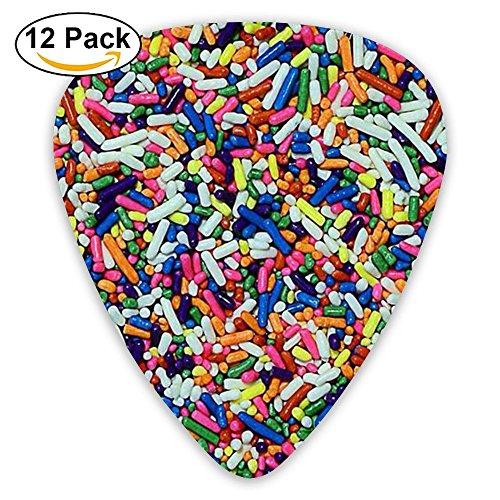 s Medium Guitar Picks (12-Pack) Girls Pink 0.46/0.71/0.96 Mm Guitar (Pharmacy Picks)