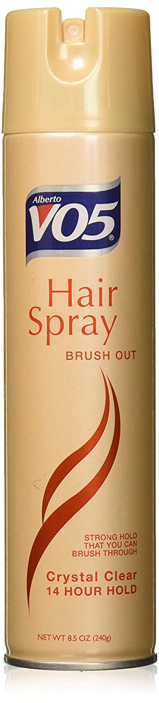 VO5 Aero Hair Spray Brush Out Hard- To-Hold, 8.5 oz