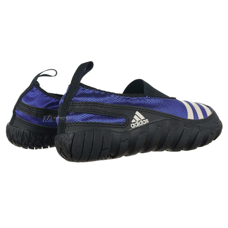 Adidas JAWPAW Badeschuh V24446, 35,blau,blau: