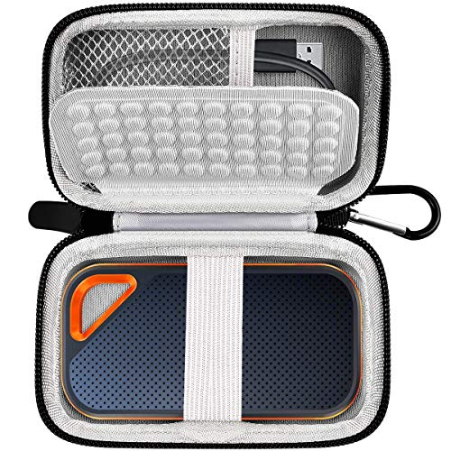 Case Compatible with SanDisk 500GB 1TB 2TB Extreme PRO Portable External SSD