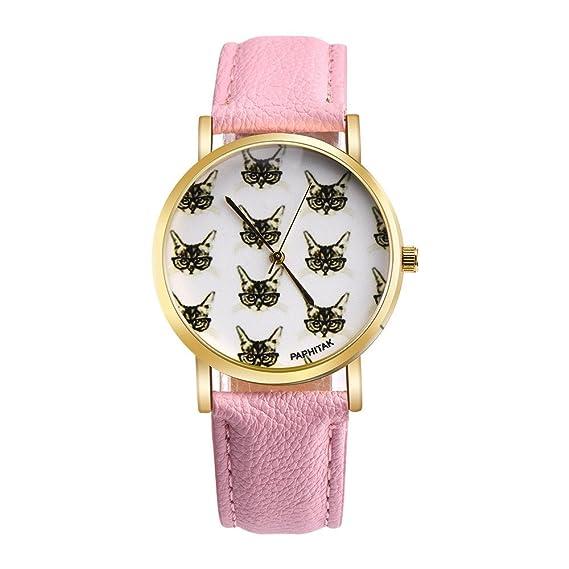 Las mujeres cuarzo relojes paphitak Cat Patrón Remoción hembra relojes de venta Lady relojes baratos watches-h99: Amazon.es: Relojes