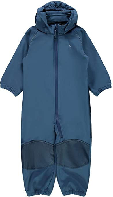 NAME IT Mini ALFA Magic Jungen Softshell-Anzug in Blau(Dark Denim) mit Magic Print