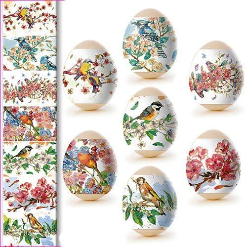 30 reicht f/ür 7 Eier Nr Schmeterlinge ukrainisches-kunsthandwerk Ostereier Schrumpffolie