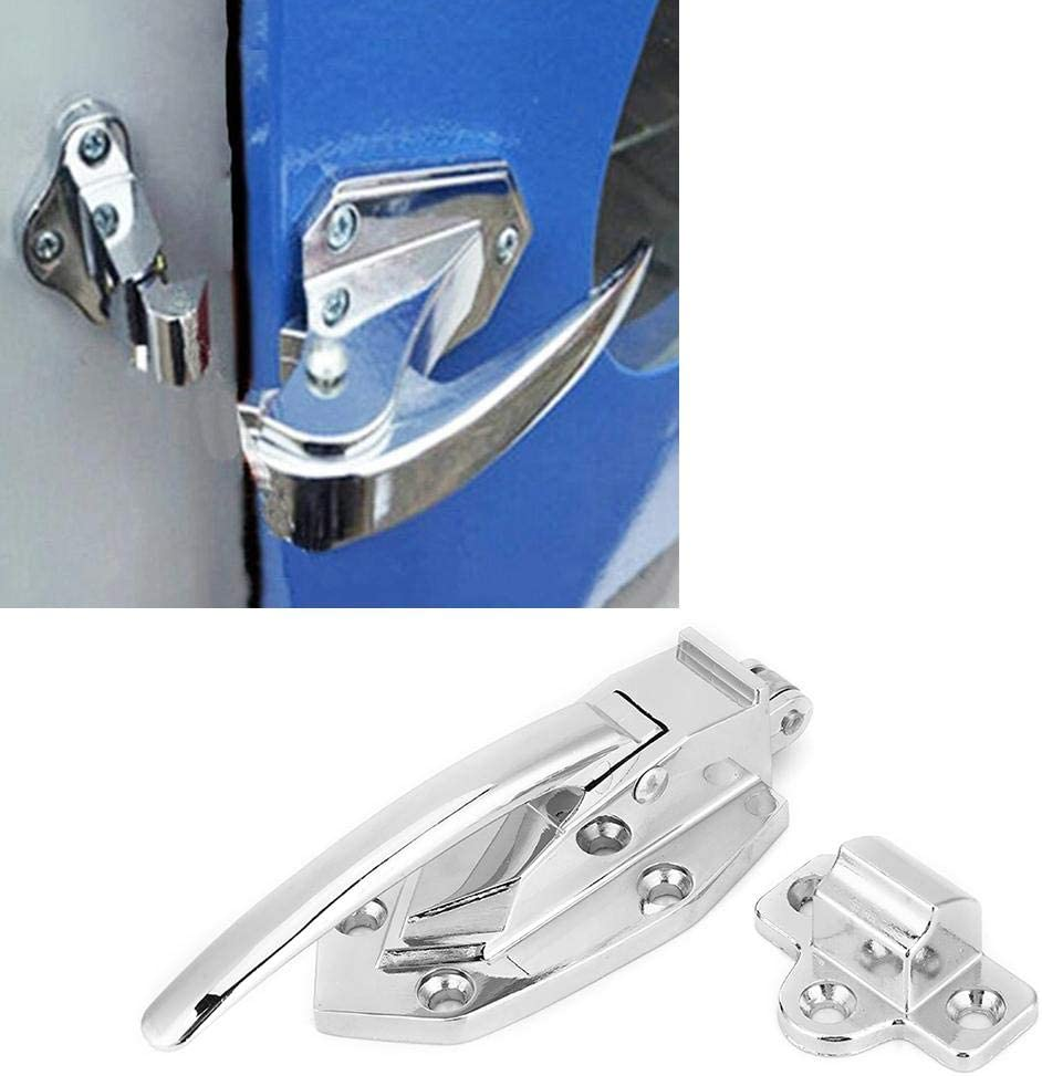 Zinc Alloy Oven Door Latch Roller Structure One Touch Locking Latch Handle Suitcase Box Carriage Door Oven Pull Handle Latch Pull Handle Latch