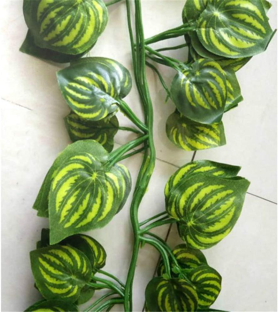 Enverdecimiento de plantas artificiales Paquete de 2 (4 piezas en ...